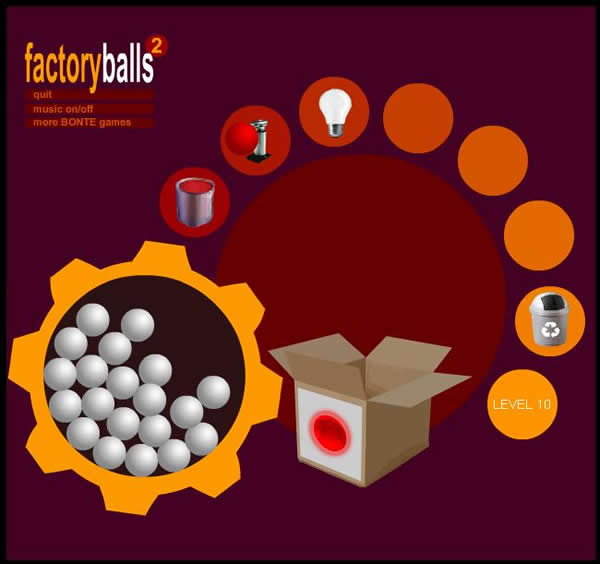 how to beat level 19 on factory balls 2